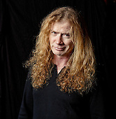 Nov 13, 2015: MEGADETH - Dave Mustaine photosession in London