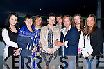 LADIES; Ladies from Lixnaw/Listowel and KIllkenny who enjoyed the Lixnaw GAA Club night at the Dogs at Kingdom Greyhound Stadium, Tralee on Saturday night. L-r: Shauna Brouder,Kathleen Mooney,Valerie Brouder,Marie King,Helen Kendall (New Zealand), Noranne McCarthyy,Samanta kelly and Jacinta McCarthy.