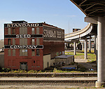 Standard Seed Company building in the old Kansas City warehouse district.