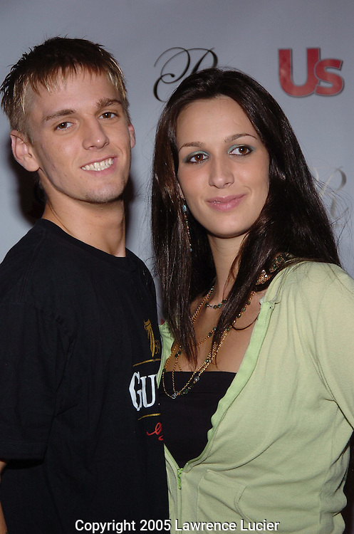 Aaron Carter and Angel Carter