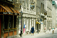 1985 File Photo - Montreal (qc) CANADA -  Stash on Saint-Sulpice street in Pierre Roussel