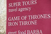 Game of Thrones Tour in der Altstadt von Dubrovnik - 25.11.2017: Dubrovnik mit der Costa Deliziosa