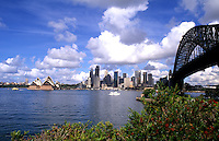 Sydney, Australia harbour and Opera House with skyline and downtown.