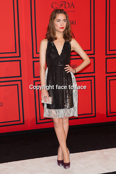 NEW YORK, NY - JUNE 3: Rose Byrne at the 2013 CFDA Fashion Awards at Lincoln Center's Alice Tully Hall in New York City. June 3, 2013. <br />