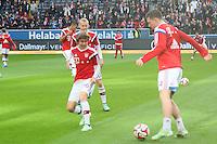 Sebastian Rode, Gianluca Gaudino, Pierre-Emile Hojbjerg (Bayern) - Eintracht Frankfurt vs. FC Bayern München, Commerzbank Arena