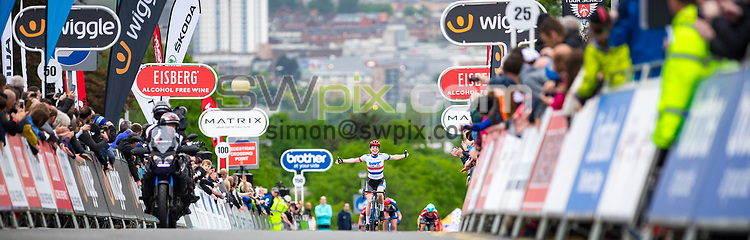 Picture by Alex Whitehead/SWpix.com - 23/05/2017 - Cycling - Tour Series Round 7, Motherwell - Matrix Fitness Grand Prix - WNT's Eileen Roe.