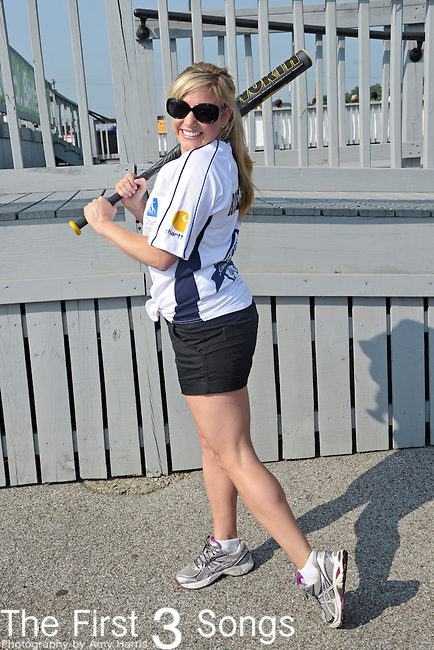 Julie Roberts attends the 21st annual City of Hope Celebrity Softball Challenge, on Saturday, June 11, at Greer Stadium in Nashville, TN during the 2011 CMA Music Festival.