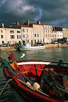 France/17/Charente Maritime/Ile de Ré/St Martin de Ré: Le port