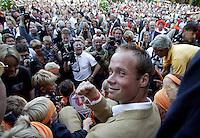 20020309, huldiging Martin Verkerk