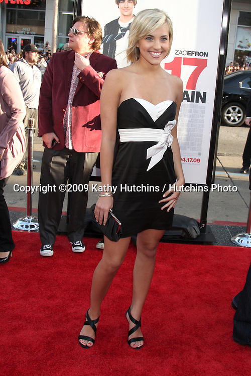 Kherington Payne  arriving at the 17 Again Premiere at Grauman's Chinese Theater in Los Angeles, CA on April 14, 2009.©2009 Kathy Hutchins / Hutchins Photo....                .