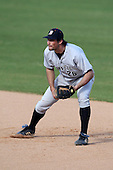 March 14, 2010:  First Baseman Doug Shribman of Bucknell University Bisons vs. UMBC in a game at Chain of Lakes Stadium in Winter Haven, FL.  Photo By Mike Janes/Four Seam Images