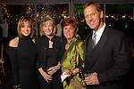 Janet Gurwitch, Diana Hudson, Leslie Nelson and Kent Nelson at the Discovery Green Gala at Discovery Green Park downtown Saturday Feb. 23,2008.(Dave Rossman/For the Chronicle)