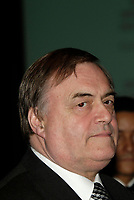 United Kingdom Deputy Prime Minister and First Secretary of<br /> State the Right Honorable John Prescott speak at the  12th International Economic Forum of the Americas<br />                            Conference of Montreal<br /> Photo by Michel Karpoff / Images Distribution