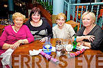 Having a night off for womens Christmas in QC's Restauran were l-r; Eileen Murphy, Annette Curran, Marie O'Sullivan & Beta O'Carroll.