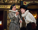 London, UK. 10.04.2014. Shakespeare's Globe presents THE MALCONTENT, in the Sam Wanamaker Playhouse, with the Globe Young Players, directed by Caitlin McLeod. Picture shows: Curtis Trynka (Ferrardo) and Joseph Marshall (Malevole). Photograph © Jane Hobson.