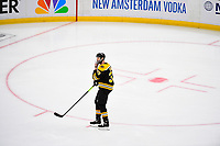 June 6, 2019: Boston Bruins defenseman Zdeno Chara (33) during game 5 of the NHL Stanley Cup Finals between the St Louis Blues and the Boston Bruins held at TD Garden, in Boston, Mass. The Blues defeat the Bruins 2-1 in regulation time. Eric Canha/CSM