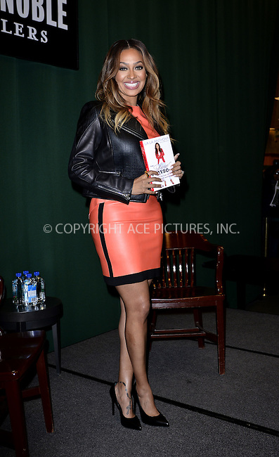 WWW.ACEPIXS.COM<br /> <br /> January 28 2014, New York City<br /> <br /> La La Anthony signs copies of her book 'The Love Playbook: Rules For Love, Sex And Happiness' at Barnes &amp; Noble Tribeca on January 28, 2014 in New York City.<br /> <br /> By Line: Curtis Means/ACE Pictures<br /> <br /> <br /> ACE Pictures, Inc.<br /> tel: 646 769 0430<br /> Email: info@acepixs.com<br /> www.acepixs.com
