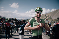 Taylor Phinney (USA/Cannondale-Drapac) up the Col d'Izoard (HC/2360m/14.1km/7.3%)<br /> <br /> 104th Tour de France 2017<br /> Stage 18 - Briancon › Izoard (178km)