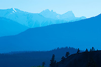 Purcell Mountains from Radium<br /> Radium<br /> British Columbia<br /> Canada