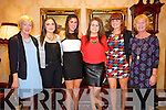 Enjoying the Fashion show in aid of MS Ireland in Ballyroe Hotel on Saturday Pictured  Catherine Dolan, Ciara Dolan, Ashley Guinan, Louise Curtin, Sarah Curtin, Veronica Curtin.