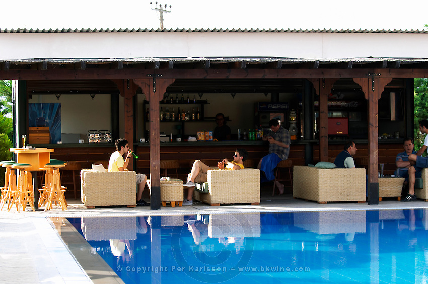 The pool. And bar. Ateron suites Hotel, Amindeo, Macedonia, Greece , Amyndeon