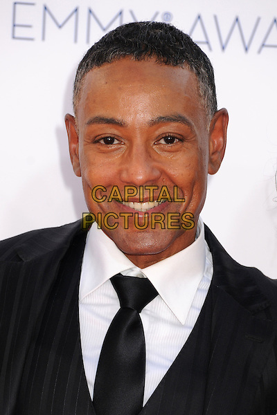 Giancarlo Esposito.The 64th Anual Primetime Emmy Awards - Arrivals, held at Nokia Theatre L.A. Live in Los Angeles, California, USA..September 23rd, 2012.emmys headshot portrait black white tie suit shirt.CAP/ADM/BP.©Byron Purvis/AdMedia/Capital Pictures.