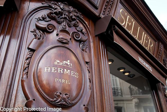 Hermes Shop, Paris, France