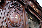 Hermes Shop, Paris, France