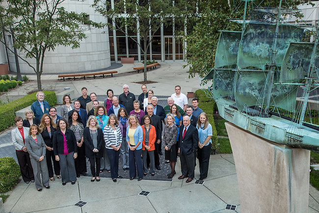 Sep. 24, 2014; Small sample of Mendoza College of Business faculty and staff. (Photo by Matt Cashore/University of Notre Dame)