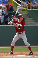 April 3 2010: Jake Stewart of the Stanford Cardinal during game against the UCLA Bruins at UCLA in Los Angeles,CA.  Photo by Larry Goren/Four Seam Images