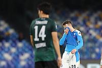 Piotr Zielinski of Napoli dejection<br /> Napoli 01-12-2019 Stadio San Paolo <br /> Football Serie A 2019/2020 <br /> SSC Napoli - Bologna FC<br /> Photo Cesare Purini / Insidefoto