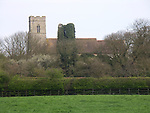 A4TR99 Antigham church Norfolk England