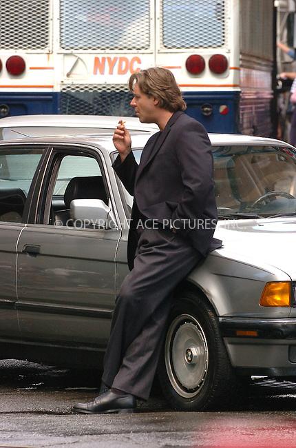 WWW.ACEPIXS.COM . . . . . ....September 16, 2006, New York City. ....Russell Crowe on the movie set of 'American Gangster'.  ....Please byline: AJ Sokalner - ACEPIXS.COM..... *** ***..Ace Pictures, Inc:  ..(212) 243-8787 or (646) 769 0430..e-mail: info@acepixs.com..web: http://www.acepixs.com