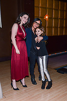 NEW YORK CITY - MARCH 15: Mikey Madison, Pamela Adlon and Olivia Edward attends FX Networks 2018 Annual All-Star Bowling Party at Lucky Strike Manhattan on March 15, 2018 in New York City. (Photo by Anthony Behar/FX/PictureGroup)