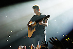 © Joel Goodman - 07973 332324 . 25/04/2015 . Manchester , UK . JAMES MCVEY . The Vamps play live at the Manchester Arena . Photo credit : Joel Goodman