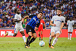 FC Internazionale Forward Eder Citadin Martins (L) attempts a kick while being defended by Chelsea Defender Gary Cahill (R) during the International Champions Cup 2017 match between FC Internazionale and Chelsea FC on July 29, 2017 in Singapore. Photo by Marcio Rodrigo Machado / Power Sport Images
