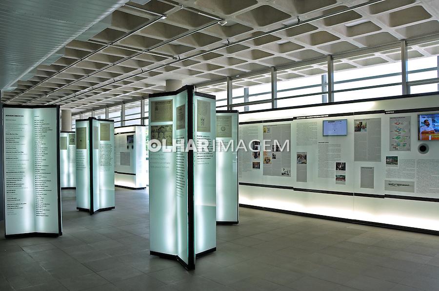 Exposição da Biblioteca Brasiliana Guita e Jose Mindlin. Cidade Universitaria. Sao Paulo. 2014. Foto de Marcia Minillo.