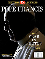 America icon special edition  Magazine Pope Francis.<br /> Photograph by Stefano Spaziani.