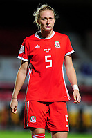 Rhiannon Roberts of Wales during the UEFA Womens Euro Qualifier match between Wales and Northern Ireland at Rodney Parade in Newport, Wales, UK. Tuesday 03, September 2019