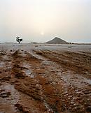 ERITREA, Akello, landscape near the small town of Akello at sunrise, the edge of the Red Sea