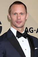 LOS ANGELES - JAN 21:  Alexander Skarsgard at the 24th Screen Actors Guild Awards - Press Room at Shrine Auditorium on January 21, 2018 in Los Angeles, CA