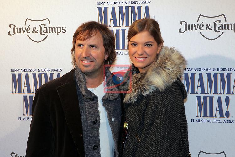 Premiere Mamma Mia! Barcelona.<br /> Jordi Rios &amp; Sra.