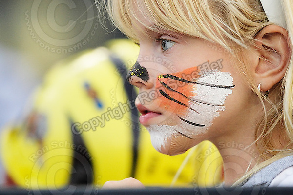 June 26, 2008; Hamilton, ON, CAN; Hamilton Tiger-Cats face painted supporter. CFL football - Montreal Alouettes defeated the Hamilton Tiger-Cats 33-10 at Ivor Wynne Stadium. Mandatory Credit: Ron Scheffler-www.ronscheffler.com. Copyright (c) Ron Scheffler