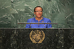 Barbados<br /> H.E. Ms. Maxine Pamela Ometa McClean<br /> Minister for Foreign Affairs and Foreign Trade<br /> <br /> General Assembly Seventy-first session 20th plenary meeting<br /> <br /> General Debate