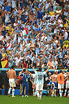Lionel Messi (ARG), JULY 5, 2014 - Football / Soccer : Lionel Messi of Argentina celebrates after winning the FIFA World Cup Brazil 2014 Quarter-finals match between Argentina 1-0 Belgium at Estadio Nacional in Brasilia, Brazil. (Photo by FAR EAST PRESS/AFLO)