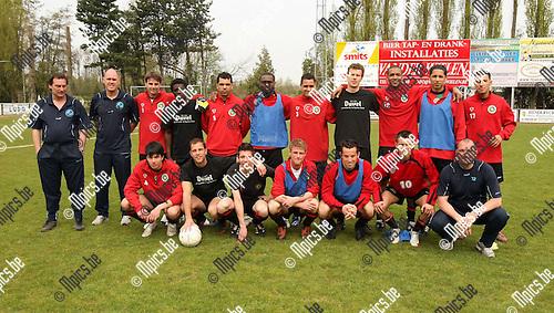 2010-04-25 / Voetbal / seizoen 2009-2010 / het team van GR Katelijne..Foto: mpics