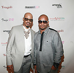 George Wilson and Honoree Curtis Smith attend COVERGIRL Queen Collection Presents The 2nd Annual Blackout Awards Held at Newark Hilton Gateway, NJ 6/12/11