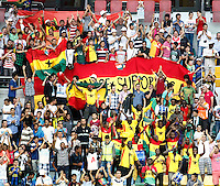 Ghana's supporters during their FIFA U-20 World Cup Turkey 2013 Group Stage Group A soccer match Ghana betwen USA at the Kadir Has stadium in Kayseri on June 27, 2013. Photo by Aykut AKICI/isiphotos.com