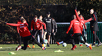 Danny Blum (Eintracht Frankfurt) - 14.02.2018: Eintracht Frankfurt Training, Commerzbank Arena