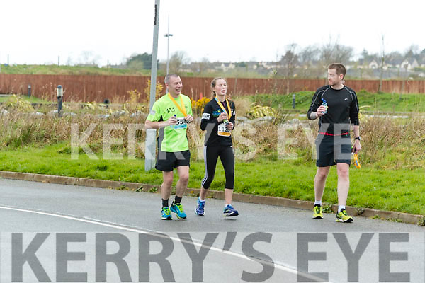 runners in the Tralee International Marathon series in Tralee on Saturday.